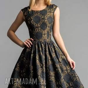 atrakcyjne sukienki midi sukienka scarlett (marszczona)