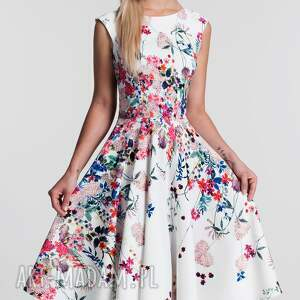 eleganckie sukienki koło sukienka scarlett midi otylia