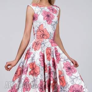 midi sukienki różowe sukienka scarlett rozetka