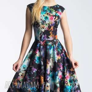 czarne sukienki plecy sukienka scarlett midi azalia