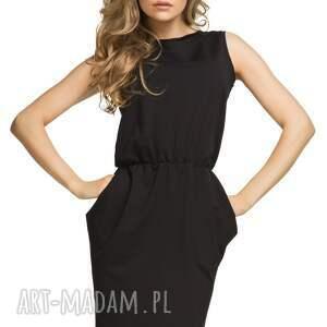 sukienki sukienka ściągnięta w talii t132