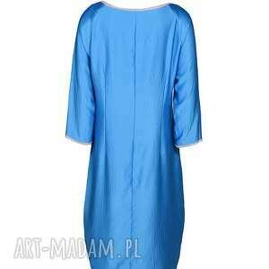 sukienki wiosna sukienka semplice - blu