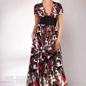 letnia sukienki czerwone sukienka shade