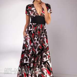 czarne sukienki maxi sukienka shade