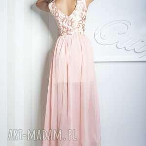 sukienki wieczorowa sukienka sharon ii maxi różowa