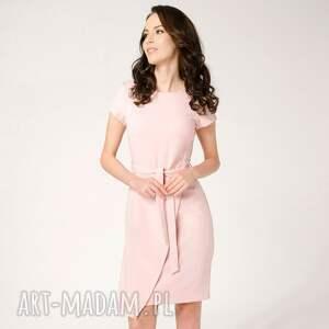 niebanalne sukienki kopertowa-sukienka sukienka silena różowa roz.