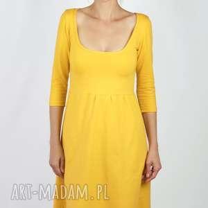 sukienki sukienka spicy mustard