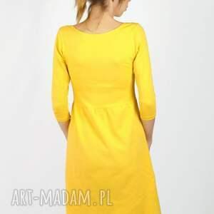 sukienka sukienki spicy mustard