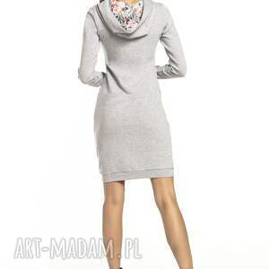 eleganckie sukienki sukienka sportowa z kapturem