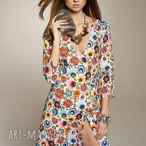 gustowne sukienki sukienka z-dekoltem stanislawa 5649