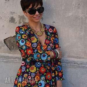 sukienka-w-kwiaty sukienki sukienka stanisława 5650