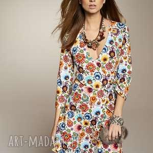 sukienki sukienka z-dekoltem stanislawa 5649