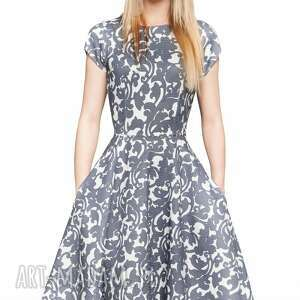 frapujące sukienka star midi klaudia
