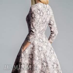 sukienki kieszenie sukienka star 3/4 midi shanon