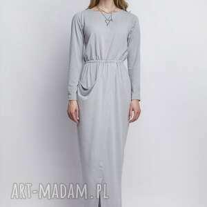 trendy sukienki sukienka, suk111 szary