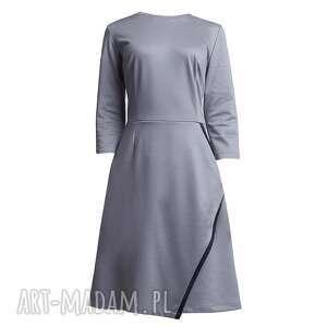 sukienki sukienka, suk116 szary
