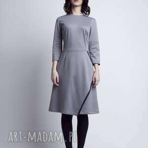 sukienki casual sukienka, suk116 szary