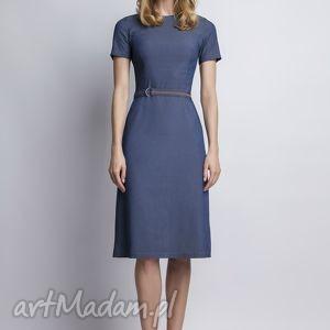 unikalne sukienki jeans sukienka, suk127