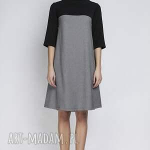 hand made sukienki półgolf sukienka, suk121 pepito