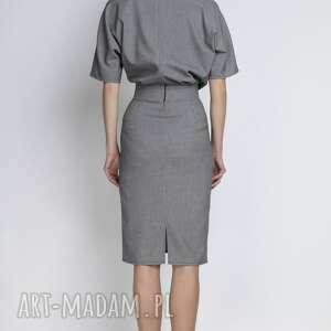 białe sukienki ołówkowa sukienka, suk123 pepito