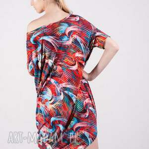 sukienki: Sukienka Summer Wzór Tuba - kardigan bluzy