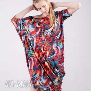 ręczne wykonanie sukienki bluzy sukienka summer wzór tuba