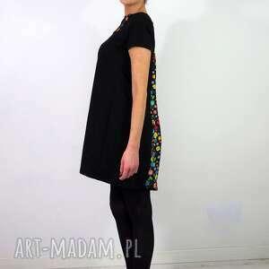 czarne sukienki sukienkaswing sukienka swing folk