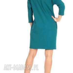sukienka sukienki 46 sznurowany dekolt