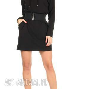 eleganckie sukienki lalu 46-sukienka sznurowany dekolt