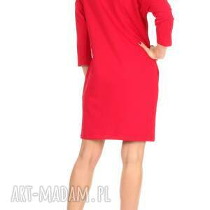 sukienki sukienka 46-sukienka sznurowany dekolt