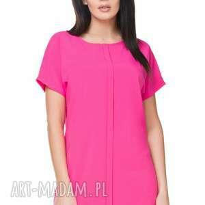 hand-made sukienki sukienka szyfonowa t166