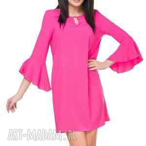 ręcznie zrobione sukienki sukienka szyfonowa t173