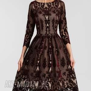gustowne sukienki sukienka tina 3/4 midi nikoletta