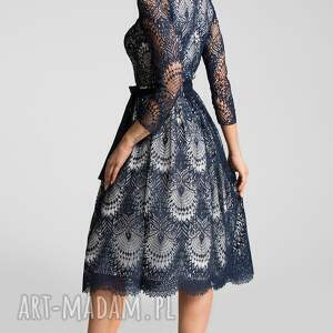 modne sukienki elegancka sukienka tina 3/4 midi josefina