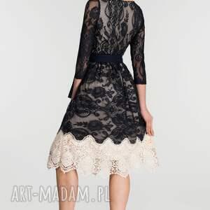 niebanalne sukienki sukienka na wesele tina 3/4 midi matylda