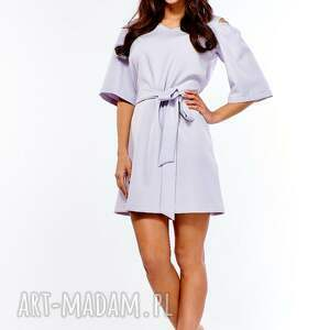 handmade sukienki sukienka trapezowa juliet szara