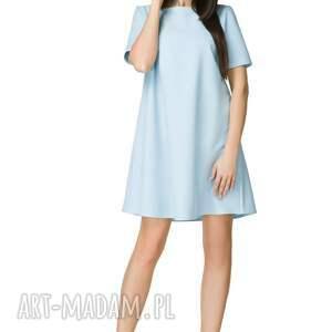atrakcyjne sukienki sukienka trapezowa z krótkim