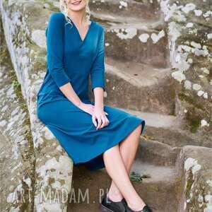 dzianina sukienki jedna z najbardziej romantycznych i retro