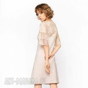 ciekawe sukienki trapezowa-sukienka sukienka trapezowa elena roz. 36