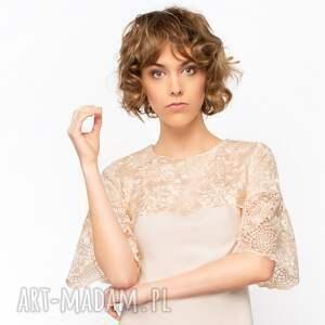 sukienki koronkowa-sukienka sukienka trapezowa elena roz. 36
