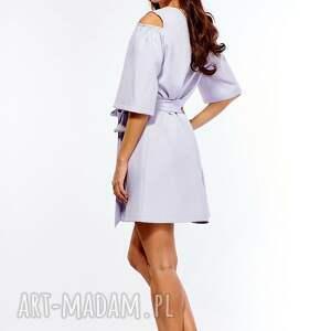 sukienki sukienka oversize trapezowa juliet szara