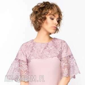 koronkowa-sukienka sukienki sukienka trapezowa z koronką roz