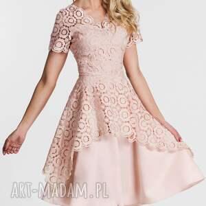 unikatowe sukienki sukienka trini midi koronka