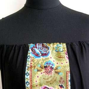niepowtarzalne sukienki etno sukienka tuba z motywami folk