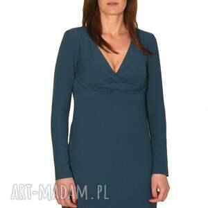unikatowe sukienki drapowana sukienka turqee