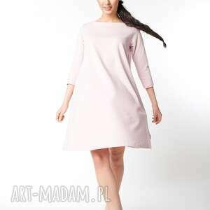 dzianina sukienki l/xl sukienka typu klosz wiosenna