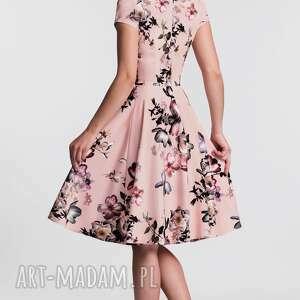 różowe sukienki kopertowa sukienka vera ii midi weronika