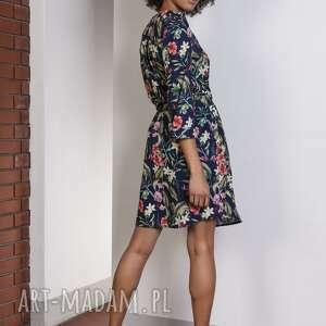 sukienki casual sukienka w kwiaty, suk149