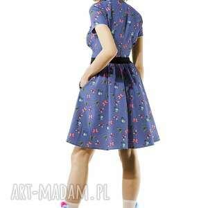 sukienki sukienka w motylki amore