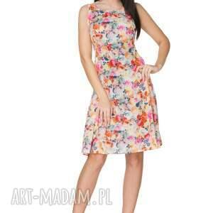 sukienki elegancka sukienka 2w1 wiązana na kokardę